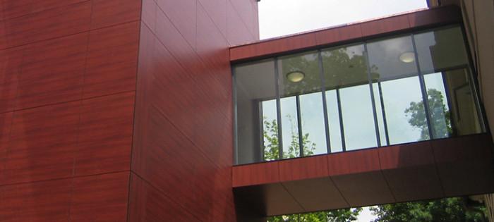 Gartenhaus Auerbach - Fassadenverglasung
