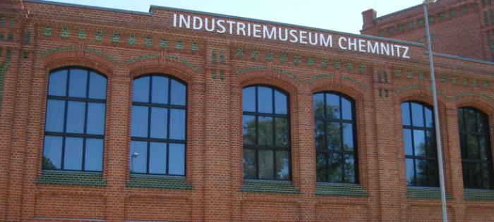 Industriemuseum Chemnitz - Metallbuchstaben