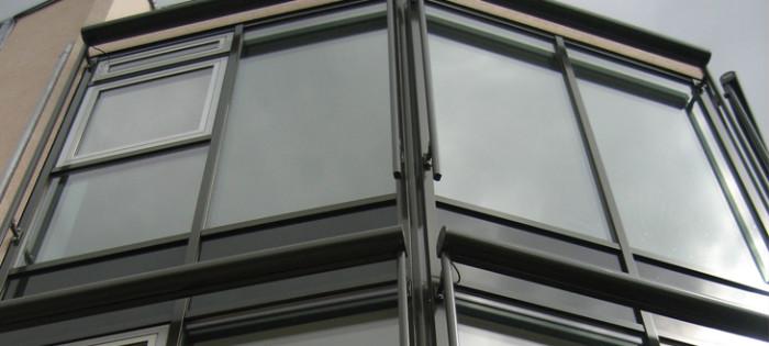 Don Bosco Burgstädt - Fassadenverglasung