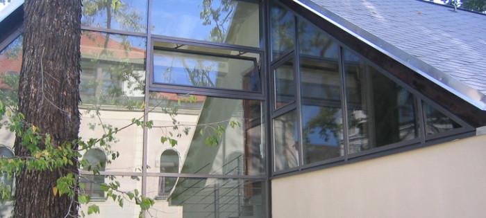 St. Josef Chemnitz - Fassadenverglasung