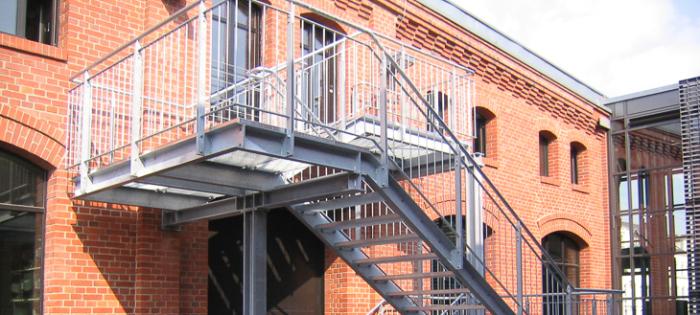 Industriemuseum Chemnitz - Fluchtreppe