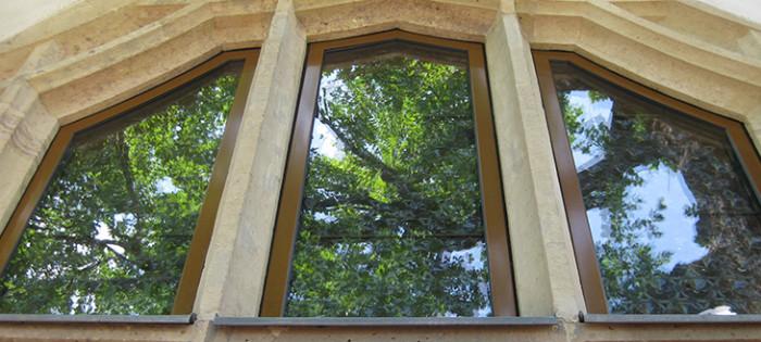 Schlossbergmuseum Chemnitz - Sicherheitsfensterverglasung RC3